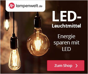 Lampenwelt.de Werbebanner - LED-Beleuchtung