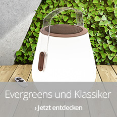 Gartenbeleuchtung - Evergreens und Klassiker