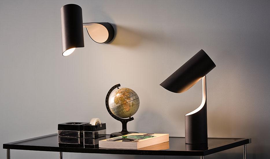 LE KLINT Mutatio - Designer-Wandlampe mit Stecker
