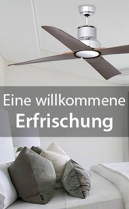 Ventilatoren - entspannt den Sommer genießen