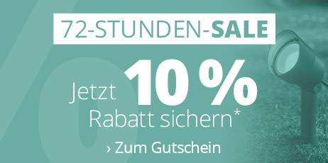 Weekend Sale - 10 % Rabatt sichern