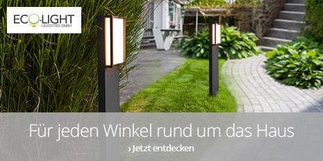 Außenleuchten von Eco-Light