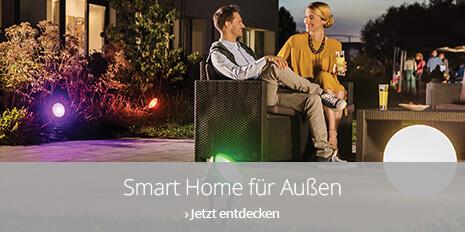 Smart Home Außenbeleuchtung - Der Garten wird smart