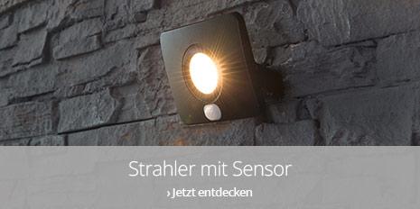 Außenstrahler mit Sensor