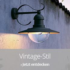 Außenleuchten im Vintage-Stil