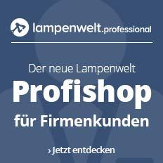 Der neue Lampenwelt Profishop für Firmenkunden