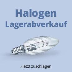 Halogen Lagerabverkauf bei Lampenwelt.de