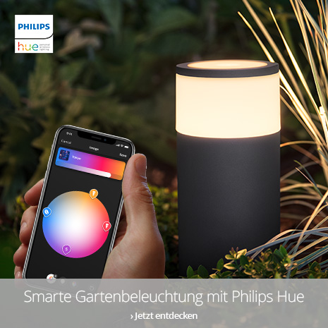 Smarte Außenbeleuchtung von Philips Hue