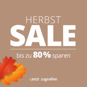 Herbst-Sale bei Lampenwelt.de - bis zu 80 % Rabatt