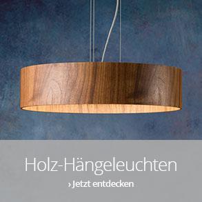 Holz-Hängeleuchten