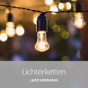 Lichterketten für innen & außen