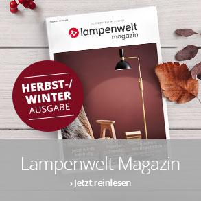 Lampenwelt Magazin - Ausgabe Herbst/Winter