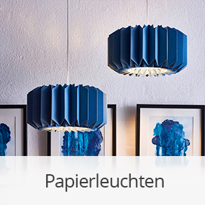 Leuchten aus Papier