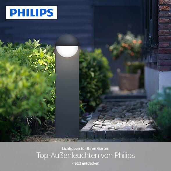 Außenbeleuchtung von Philips