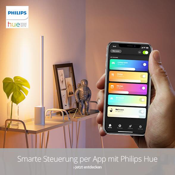Smarte Steuerung per App mit Philips Hue