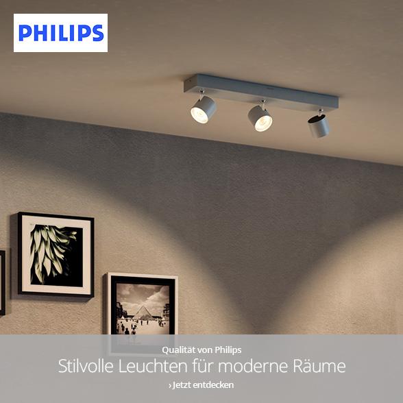 Qualität von Philips - Stilvolle Leuchten für moderne Räume