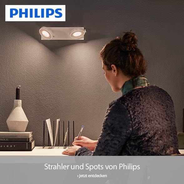 Smart, flexibel und eindrucksvoll - Strahler und Spots von PHILIPS