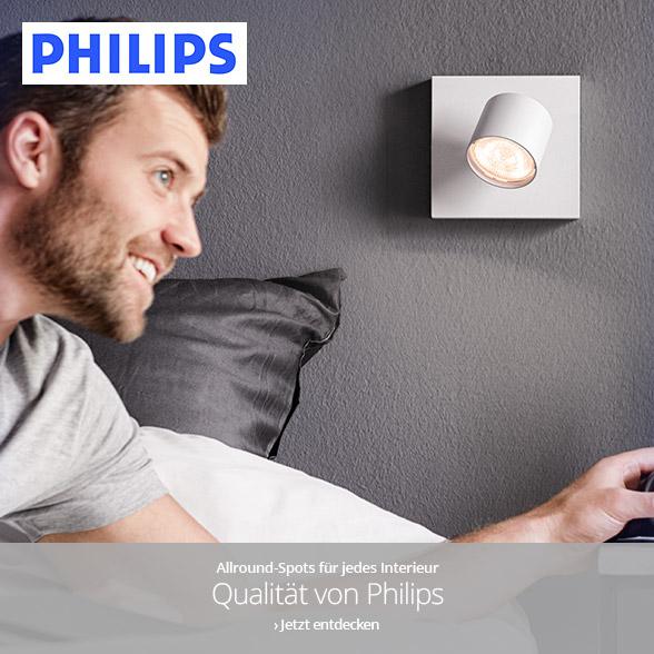 Strahler und Spots von Philips