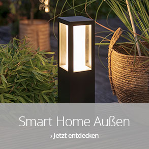 Smart Home Außenbeleuchtung