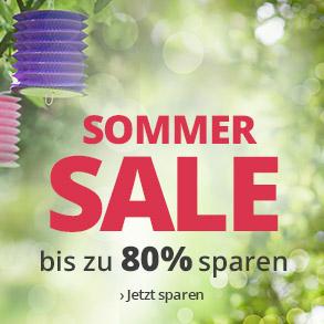 Sommer-Sale - bis zu 80 % Rabatt