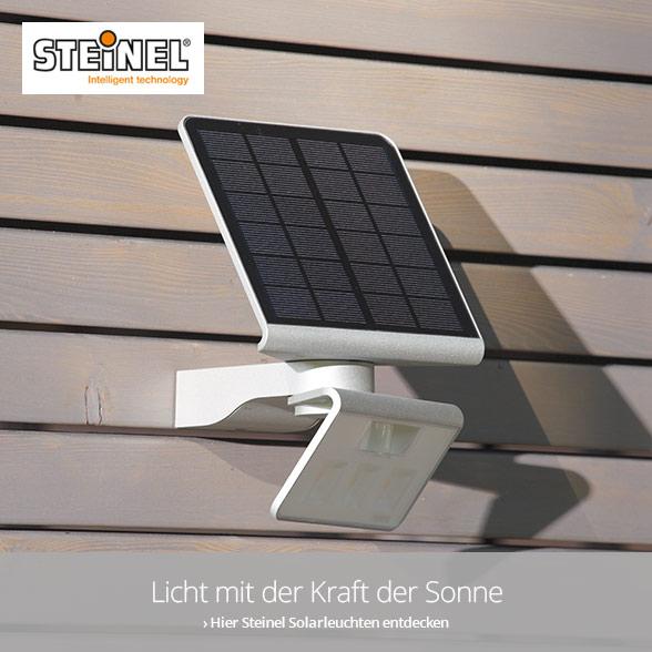 Hochwertige Solarleuchten von Steinel