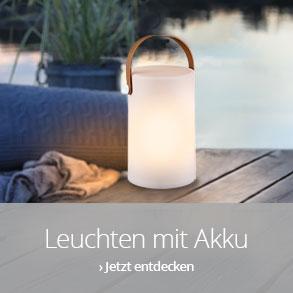 Leuchten mit Akku