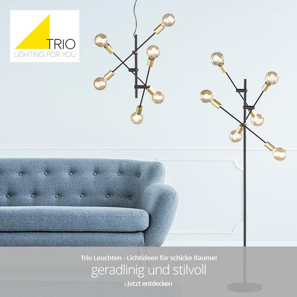 Trio Leuchten - geradlinig und stilvoll