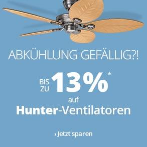 Ventilatoren von Hunter