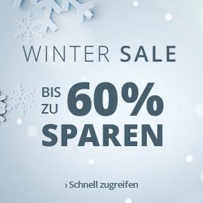 Winter SALE - bis zu 60% sparen
