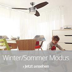 Ventilatoren mit Winter-Sommer-Modus