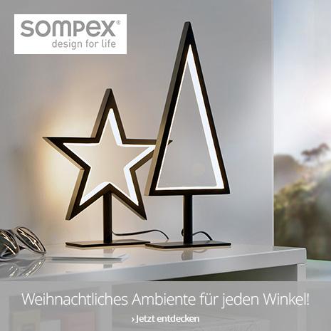 Weihnachtliches Ambiente von Sompex