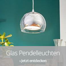 Glas Pendelleuchten