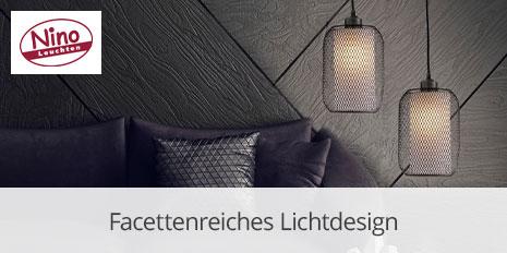 Facettenreiches Lichtdesign von Nino Leuchten