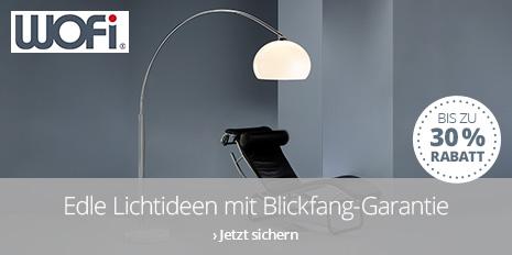 Leuchten von Wofi - Edle Lichtideen mit Blickfang-Garantie