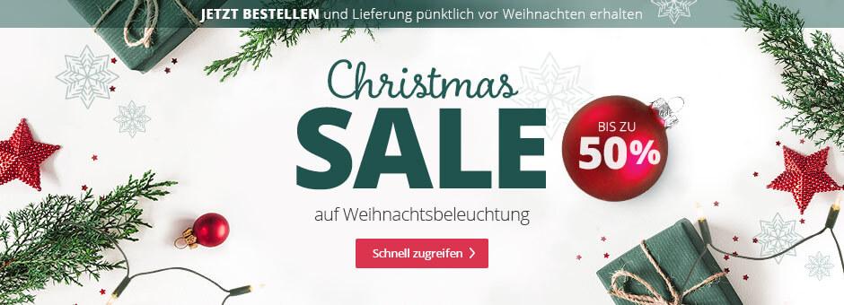 Christmas SALE bei Lampenwelt.de