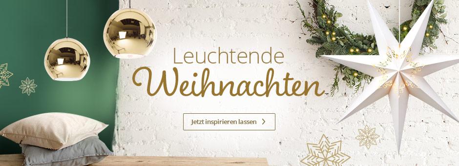 Leuchtende Weihnachtsideen bei Lampenwelt.de