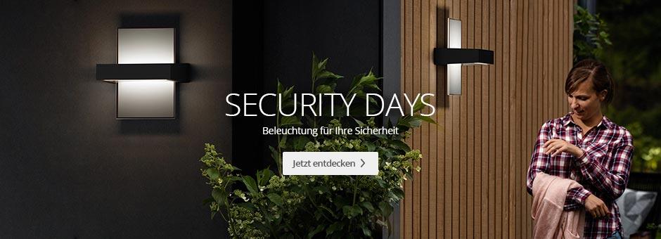 Security Days - Beleuchtung für Ihre Sicherheit