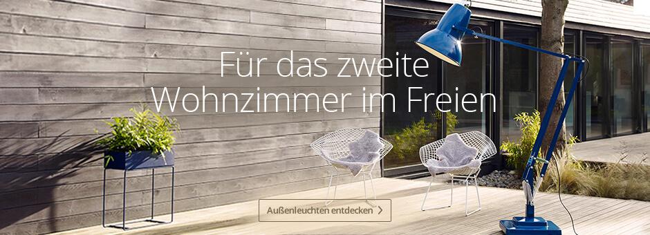 Außenleuchten - Für das zweite Wohnzimmer im Freien