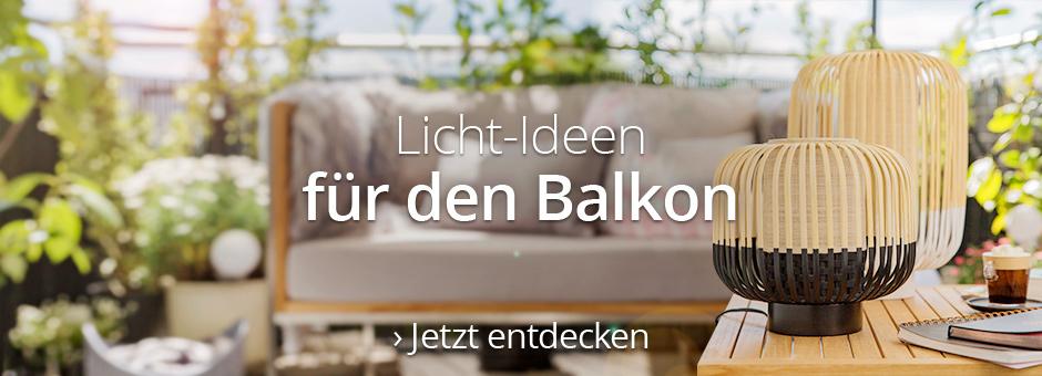 Licht-Ideen für den Balkon