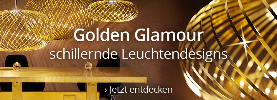 Goldene Leuchten