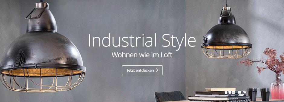 Industrial Style - Wohnen wie im Loft
