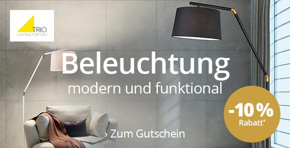 Beleuchtung modern und funktional - Trio Leuchten