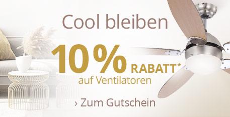 Cool bleiben - 10 % Rabatt*