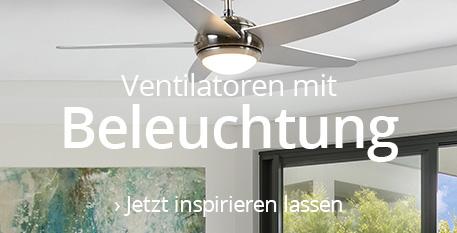 Ventilatoren mit Beleuchtung