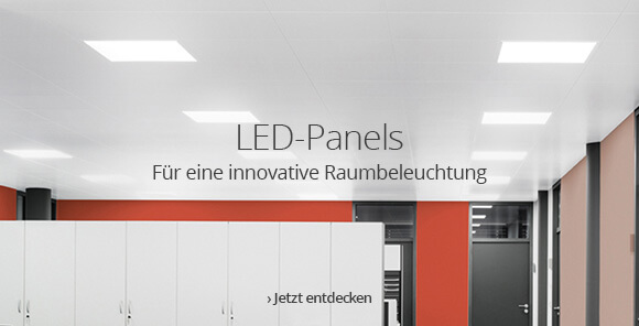 LED-Panels für eine innovative Raumbeleuchtung