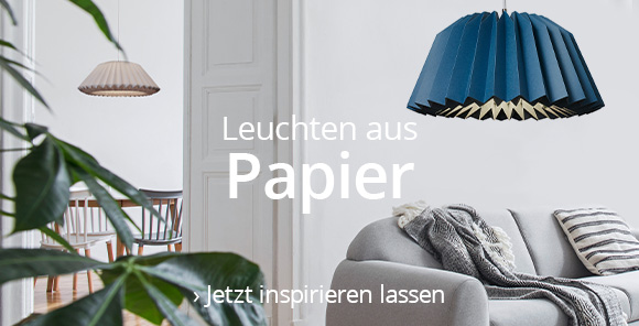 Hängeleuchten aus Papier entdecken