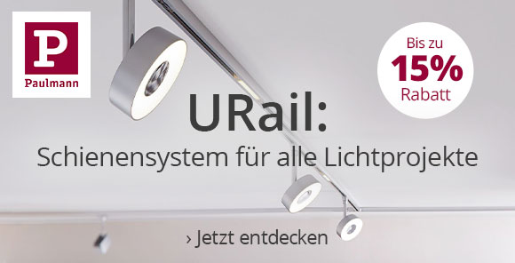 Paulmann U-Rail - Bis zu 15 % Rabatt sichern