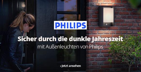Außenleuchten von Philips