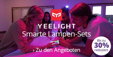 Smarte Lampen - Sets von Yeelight