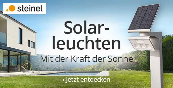 Solarleuchten von Steinel - Jetzt entdecken
